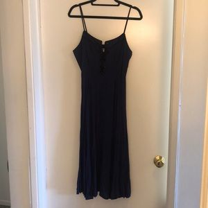 Urban Outfitters Navy Dress / Size 10